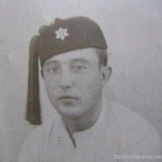 Militaria: FOTOGRAFÍA SOLDADO MEHALA JALIFIANA. MELILLA 1929. Lote 56165808