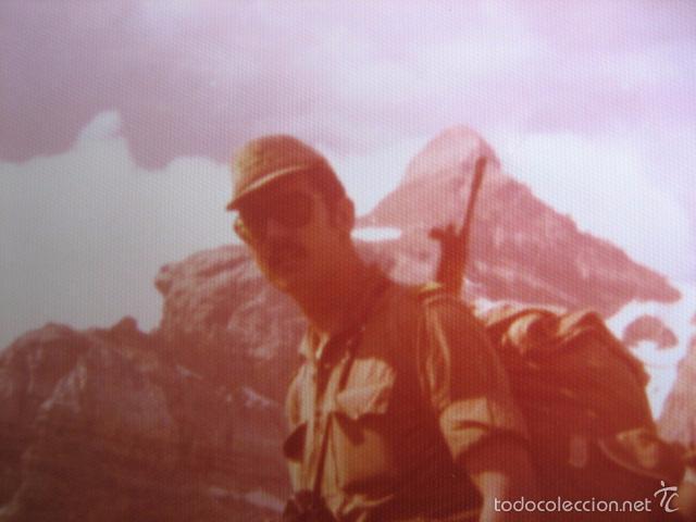 Militaria: Fotografía sargento del ejército español. Alta Montaña 1975 - Foto 2 - 56325813