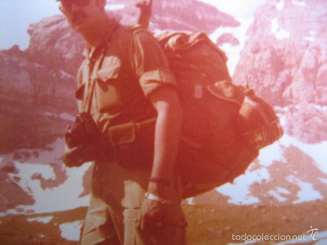 Militaria: Fotografía sargento del ejército español. Alta Montaña 1975 - Foto 3 - 56325813