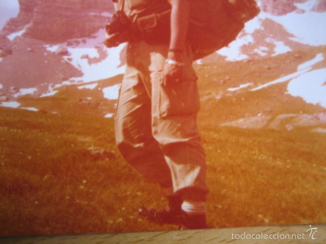 Militaria: Fotografía sargento del ejército español. Alta Montaña 1975 - Foto 4 - 56325813