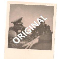 Militaria: MARISCAL ERWIN ROMMEL EN CAMPAÑA - FOTOGRAFÍA ORIGINAL AGFA LUPEX. Lote 56472391