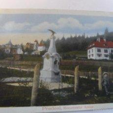 Militaria: POSTCARD PREDEAL.MUNUMENTUL APELOR 1905.RUMANIA . I GUERRA MUNDIAL. Lote 56475326