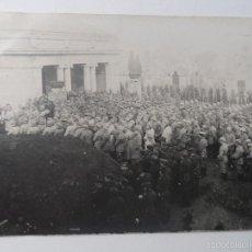 Militaria: POSTCARD SOLDADOS ALEMANES EN FUNERAL CEMENTERIO DE BELGRADO-NAMUR.BELGICA. I GUERRA MUNDIAL. Lote 56521222