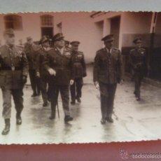 Militaria: GENERALES Y OFICIALES ESTADO MAYOR . CEUTA. Lote 56555832