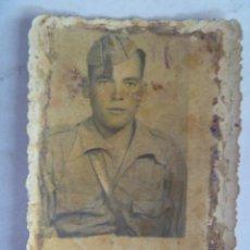Militaria: GUERRA CIVIL : FOTO DE CARNET DE SOLDADO NACIONAL O REPUBLICANO.. Lote 56621109