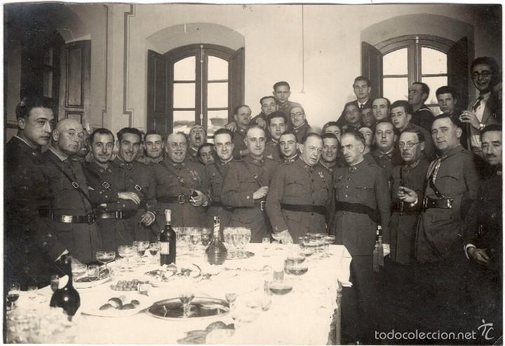 FOTOGRAFÍA DE MILITARES - GENERALES - JEFES - OFICIALES (Militar - Fotografía Militar - Otros)