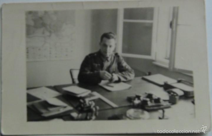 FOTOGRAFÍA POSTAL SOLDADO ALEMÁN. ALEMANIA. II GUERRA MUNDIAL. 3-8-1941. ORIGINAL Y ÚNICA (Militar - Fotografía Militar - II Guerra Mundial)