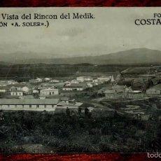 Militaria: FOTO POSTAL, RINCON DEL MEDIK, PROTECTORADO ESPAÑOL EN MARRUECOS, FOTO COSTA SALAS, COLECCION A. SOL. Lote 56732836