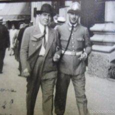 Militaria: FOTOGRAFÍA CUERPO DE SEGURIDAD. BARCELONA 1928. Lote 56958799