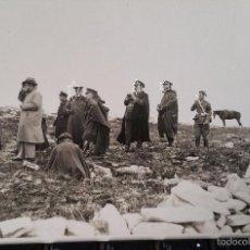 Militaria: POSTAL FOTOGRAFIA EXCUELAS MILITARES O MANIOBRAS EN PEÑA ULLOA 1932. Lote 56978248