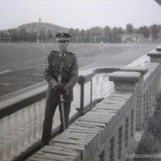 Militaria: FOTOGRAFÍA CADETE ACADEMIA GENERAL MILITAR ZARAGOZA. AGM. Lote 57012966