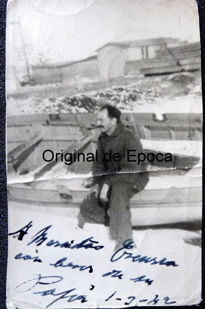 Militaria: (JX-1567) Conjunto de siete fotografías de un trabajador español en la Alemania Nazi,Segunda Guerra - Foto 5 - 57036192