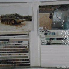 Militaria: LOTE DE 22 FOTOGRAFÍAS MILITARES CONSERVADAS EN ESTUCHE. TDK2. Lote 57056365