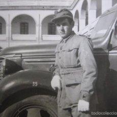 Militaria: FOTOGRAFÍA CAMIÓN CHEVROLET MODELO V DE 1939 DEL EJÉRCITO ESPAÑOL.. Lote 57094450