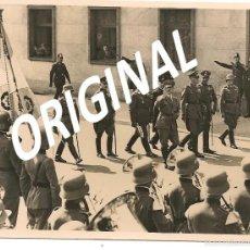 Militaria: ADOLF HITLER JUNTO A HERMANN GÖRING Y VON BLOMBERG - FOTOGRAFÍA DE PRENSA. Lote 57137370