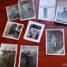 Militaria: 9 FOTOS DE LA LUFTWAFFE EN LA SEGUNDA GUERRA MUNDIAL. Lote 57138083