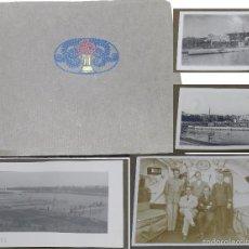 Militaria: ALBUM DE 140 FOTOGRAFIAS DE SUBMARINOS, MUCHAS DE LA BASE MILITAR DE MAHON, AÑO 1920-21, INTERIOR DE. Lote 57181024