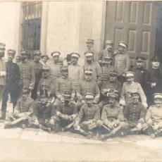 Militaria: FOTOGRAFÍA DE MILITARES - JEFES Y OFICIALES - ÉPOCA ALFONSINA. Lote 57352506
