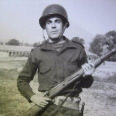 Militaria: FOTOGRAFÍA SOLDADO INFANTERÍA DE MARINA.. Lote 71258301