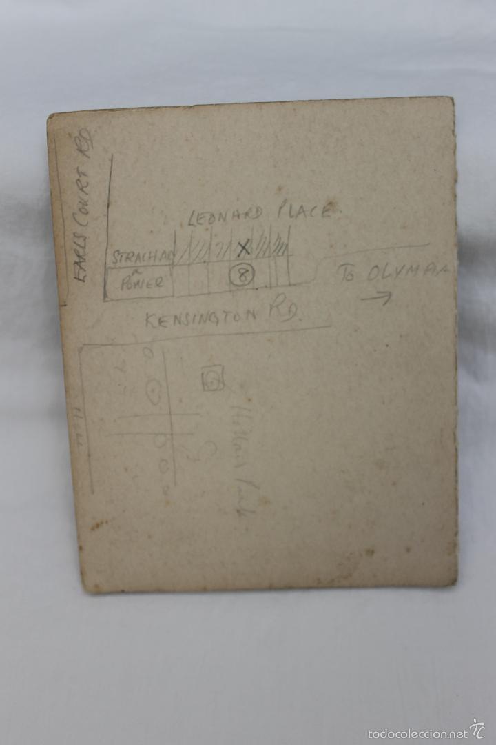 Militaria: FOTO DE STEENWERCK, MESSINES CLUB, 1921 CON FIRMA SUPERVIVIENTES Y MENU DE MAXIM - Foto 4 - 57565801