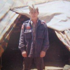 Militaria: FOTOGRAFÍA SOLDADO DEL EJÉRCITO ESPAÑOL. DIVISIÓN ACORAZADA BRUNETE. Lote 57591271