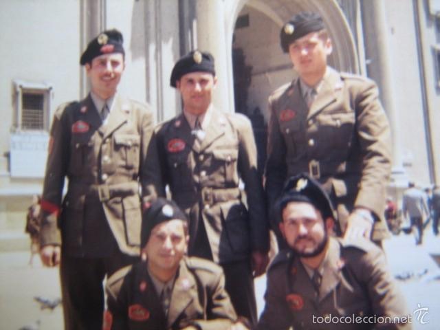 FOTOGRAFÍA SOLDADOS Y CABO DIVISIÓN ACORAZADA BRUNETE. (Militar - Fotografía Militar - Otros)