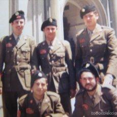 Militaria: FOTOGRAFÍA SOLDADOS Y CABO DIVISIÓN ACORAZADA BRUNETE.. Lote 57607221