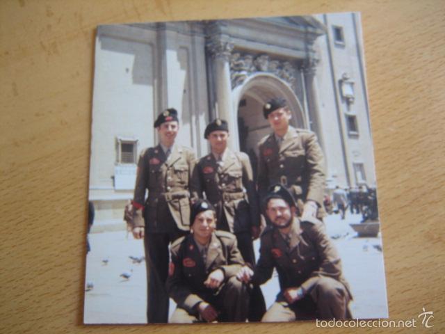 Militaria: Fotografía soldados y cabo División Acorazada Brunete. - Foto 2 - 57607221