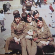 Militaria: FOTOGRAFÍA CABOS DIVISIÓN ACORAZADA BRUNETE.. Lote 57619012