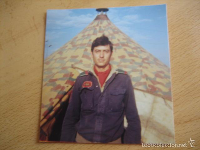 Militaria: Fotografía cabo División Acorazada Brunete. - Foto 2 - 57619801