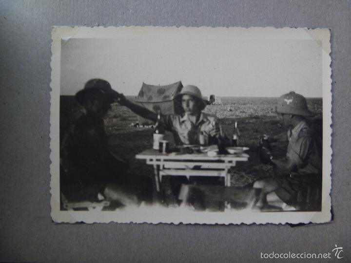 ALBUM DE FOTOS DE UN COMBATIENTE ALEMAN DEL AFRIKA KORP EN LIBIA. EX LEGION CONDOR ? (Militar - Fotografía Militar - II Guerra Mundial)