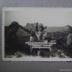 Militaria: ALBUM DE FOTOS DE UN COMBATIENTE ALEMAN DEL AFRIKA KORP EN LIBIA. EX LEGION CONDOR ?. Lote 56049471