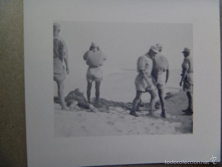 Militaria: ALBUM DE FOTOS DE UN COMBATIENTE ALEMAN DEL AFRIKA KORP EN LIBIA. EX LEGION CONDOR ? - Foto 9 - 56049471