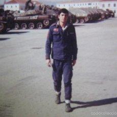 Militaria: FOTOGRAFÍA CARROS DE COMBATE AMX-30 DEL EJÉRCITO ESPAÑOL. EL GOLOSO. Lote 57749066