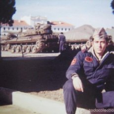 Militaria: FOTOGRAFÍA CARROS DE COMBATE AMX-30 DEL EJÉRCITO ESPAÑOL. EL GOLOSO. Lote 57749080