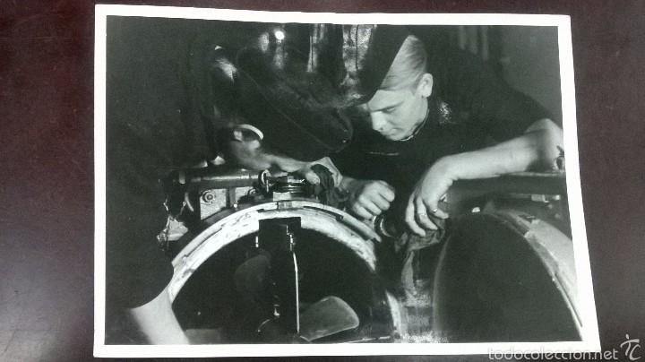 FOTO SCHNELLBOOTE 1942 (Militar - Fotografía Militar - II Guerra Mundial)