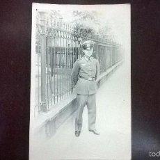 Militaria: FOTO-TARJETA OFICIAL ALEMAN 1941. Lote 57822625
