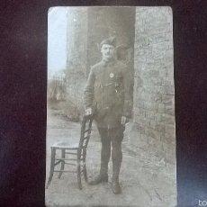 Militaria: FOTO SOLDADO FRANCES 1918. Lote 57822651
