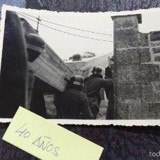Militaria: FOTO ORIGINAL SEGUNDA GUERRA MUNDIAL ENTIERRO SOLDADOS NAZIS. Lote 57871825