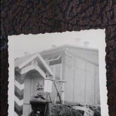 Militaria: FOTO ORIGINAL SEGUNDA GUERRA MUNDIAL SOLDADO GARITA. Lote 57873438