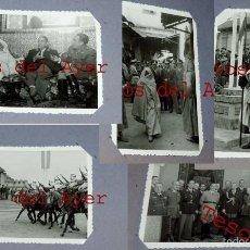 Militaria: ALBUM CON 24 FOTOS DE EL GENERAL VARELA, FUERZAS REGULARES INDIGENAS DE CABALLERIA, LA LEGION . Lote 58021197