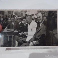 Militaria: ANTIGUA FOTOGRAFIA DE JERARCA DE FALANGE, MATARO, 1942. Lote 58101229