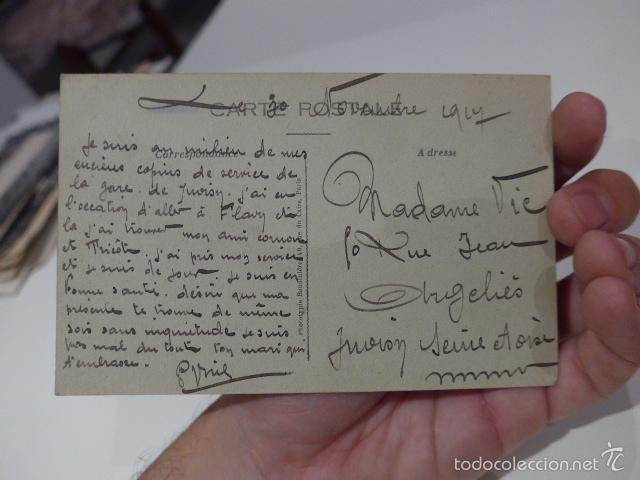 Militaria: Lote 3 fotografia o postal de I guerra mundial, francesas, Francia - Foto 3 - 58102869
