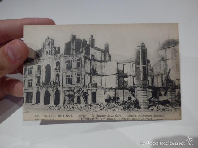 Militaria: Lote 3 fotografia o postal de I guerra mundial, francesas, Francia - Foto 4 - 58102869