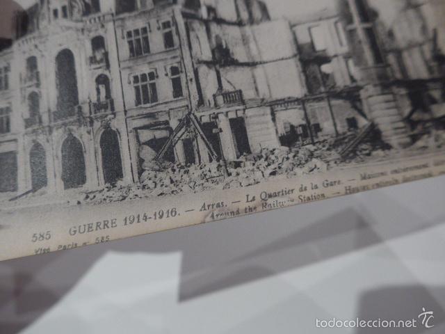 Militaria: Lote 3 fotografia o postal de I guerra mundial, francesas, Francia - Foto 5 - 58102869