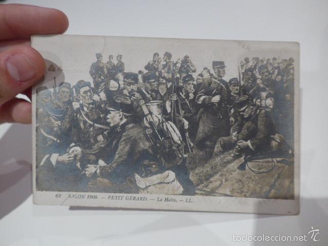 Militaria: Lote 3 fotografia o postal de I guerra mundial, francesas, Francia - Foto 7 - 58102869