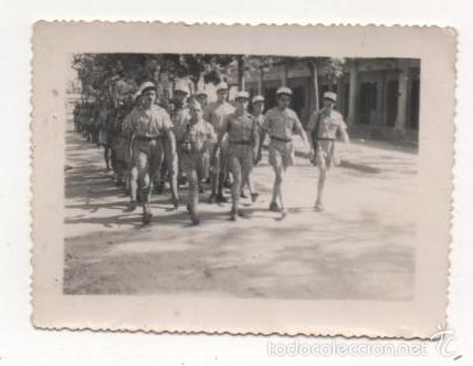 INTERESANTE FOTOGRAFIA ORIGINAL POSIBLEMENTE GUERRA INDOCHINA (Militar - Fotografía Militar - Otros)