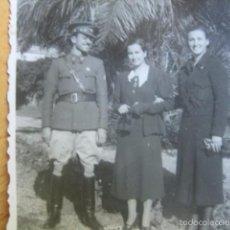 Militaria: FOTOGRAFÍA ALFÉREZ DEL EJÉRCITO NACIONAL. MÁLAGA 1937. Lote 58131762