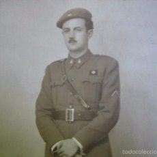 Militaria: FOTOGRAFÍA ALFÉREZ PROVISIONAL DEL EJÉRCITO NACIONAL. 1938. Lote 58138537