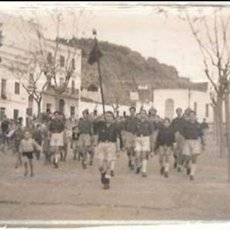 Militaria: FOTO CÁDIZ,AÑOS 40-50,FALANGES JUVENILES DE FRANCO,CÁDIZ,JEREZ DE LA FRONTERA. Lote 58177530